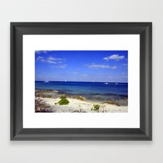 Lets Sail Away Framed Art Print