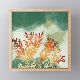 Sandstone Fossils Framed Mini Art Print