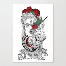mother frida Canvas Print