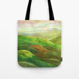 Lines in the mountains XVI Tote Bag
