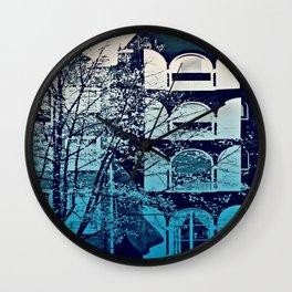 Amsterdam Home - Blue Wall Clock