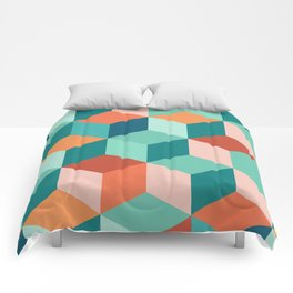 Abstract Geometric Pattern 03 Comforters