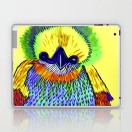 Baby Chick Learns To Fingerpaint Laptop & iPad Skin