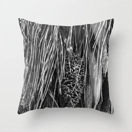 Natural Textures Throw Pillow