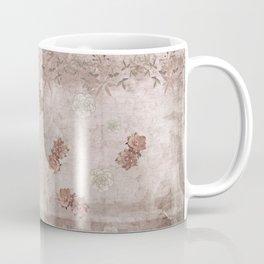 Vintage Mauve Wallflowers Coffee Mug