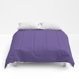 PANTONE 18-3838 Ultra Violet Comforters