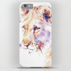 Patience . Lion iPhone 6s Plus Slim Case