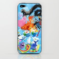 Battle Time!! - compilation iPhone & iPod Skin
