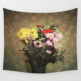 Flowers for her Wall Tapestry