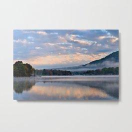 Pastel Dawn in the Adirondacks Metal Print
