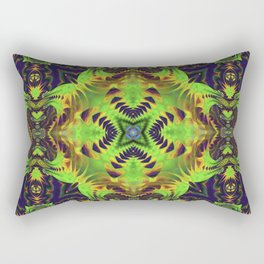 n3 Neu Psychedelic Rectangular Pillow