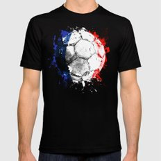 football France Mens Fitted Tee Black SMALL