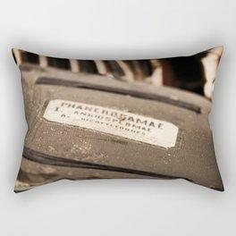 Old Documents Rectangular Pillow