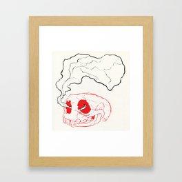 Otterly Dead Framed Art Print