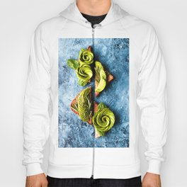 Avocado Foodie Art Hoody