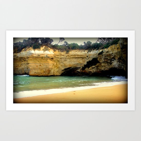 Perfect swimming Hideaway Art Print