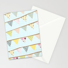 bunting fun Stationery Cards