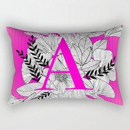 Floral Type A Rectangular Pillow