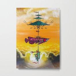 Arowana Metal Print