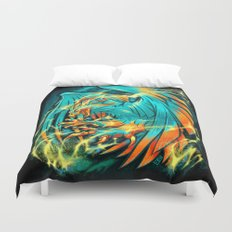 BIRD OF THUNDER Duvet Cover