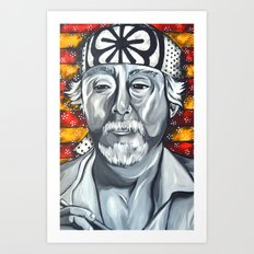 Mr. Miyagi Art Print