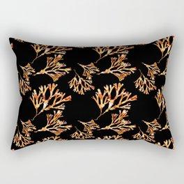 Coral Pattern Rectangular Pillow