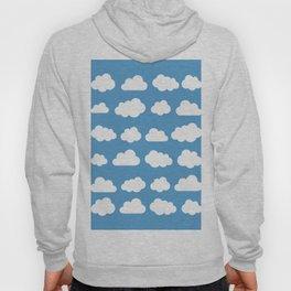 White Clouds in Blue Skies Hoody