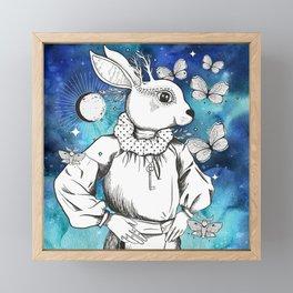 The Magic Of Moonbeams On A Midsummer Night Framed Mini Art Print