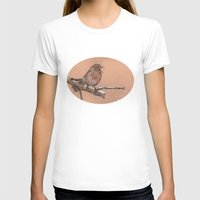 robin T-shirts featuring Robin by Meredith Mackworth-Praed