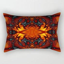 Fractal Art - Devil I Rectangular Pillow