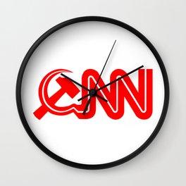 Communist News Network Wall Clock