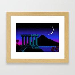Acropolis Framed Art Print