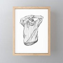 turtleneck Framed Mini Art Print