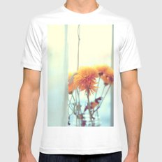 She'll Let You In MEDIUM Mens Fitted Tee White