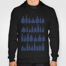 Bottles Navy Hoody