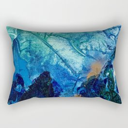 Sea Leaves, Tiny World Collection Rectangular Pillow