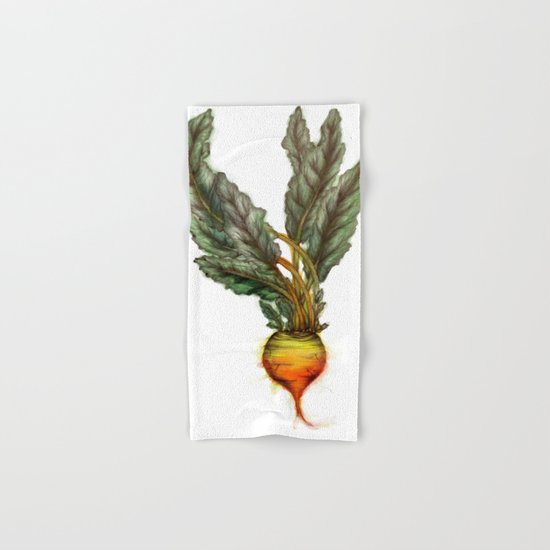 Rooted: The Golden Beet Hand & Bath Towel