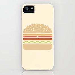 #62 Hamburger iPhone Case