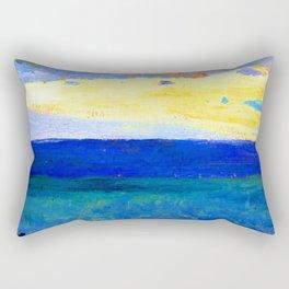 Mikhail Nesterov Sea View Rectangular Pillow
