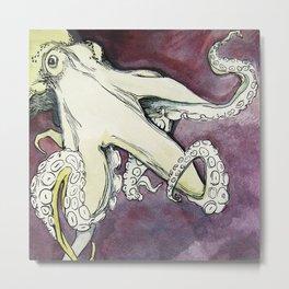 The Octopus -  Metal Print