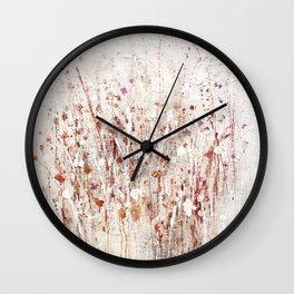 little rose Wall Clock