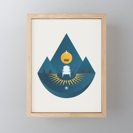 The Sun King Framed Mini Art Print