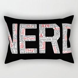 NERD. Rectangular Pillow