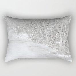 Pondside Thaw Rectangular Pillow
