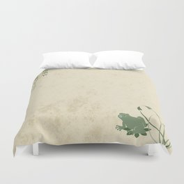 The Old Pond Duvet Cover