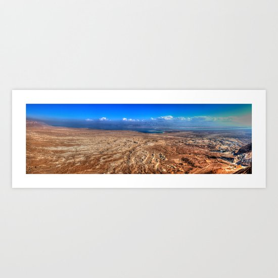 The Dead Sea Series #2  Art Print