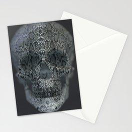 Snake Skull Stationery Cards