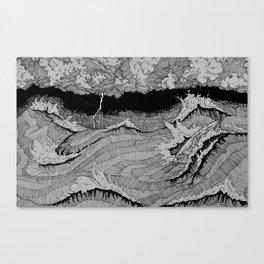 Dagon Canvas Print