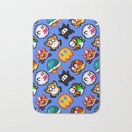 Super Mario World | Enemies Pattern Bath Mat