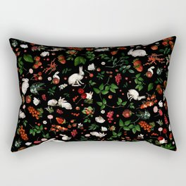 Sweet Bunnies Rectangular Pillow